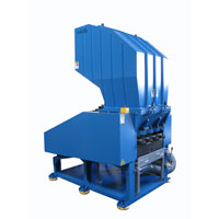 The Powerful Plastic Crusher is major for crushing the various runners, sprues and defected products from plastic injection molding machine.